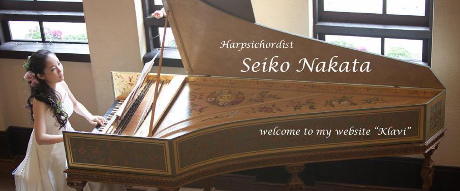 Seiko Nakata, Harpsichordist
